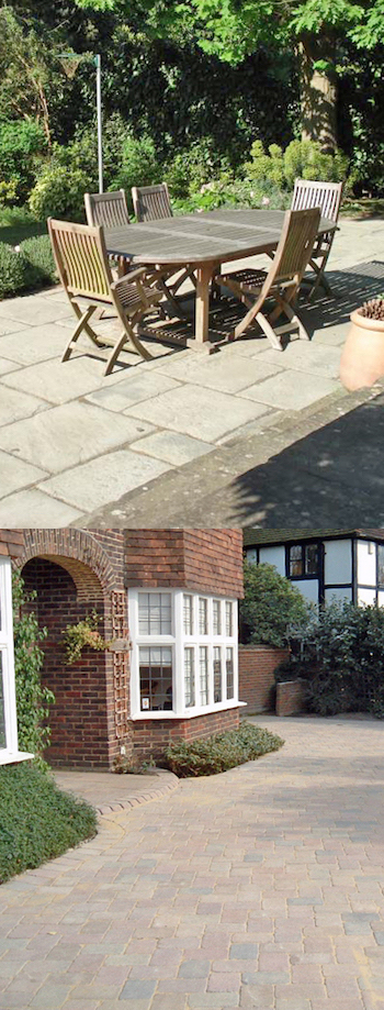 coombe park patios driveways.