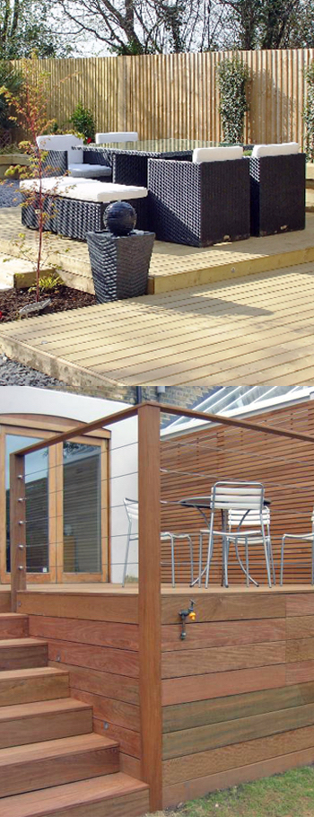 Garden Decking New Malden.