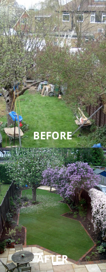 garden landscaping walton on thames.