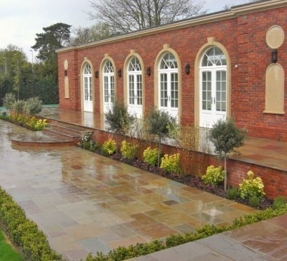 garden paving walton on thames.